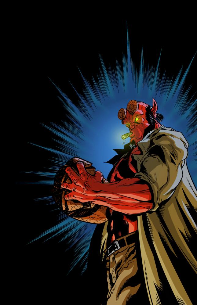 hellboy lighter by jamce