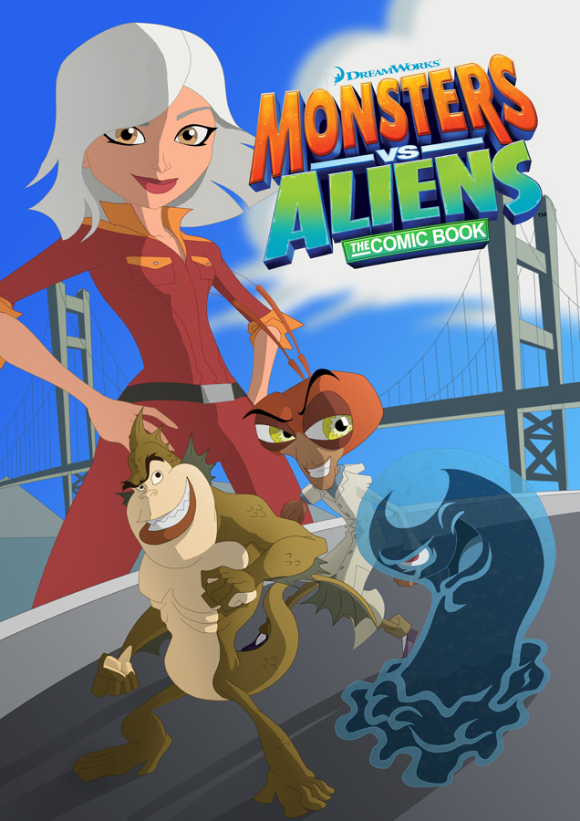 images of monsters vs aliens naked