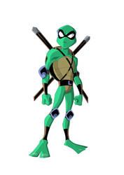 Ninja Turtles leo by jamce