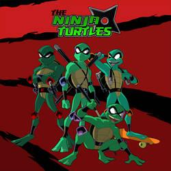 the Ninja Turtles 2 by jamce