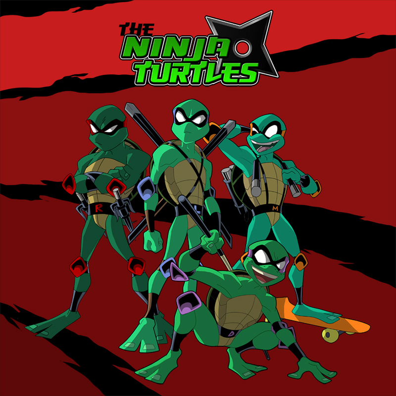 the Ninja Turtles 2 by jamce
