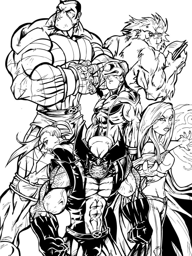 x man coloring pages - photo #40
