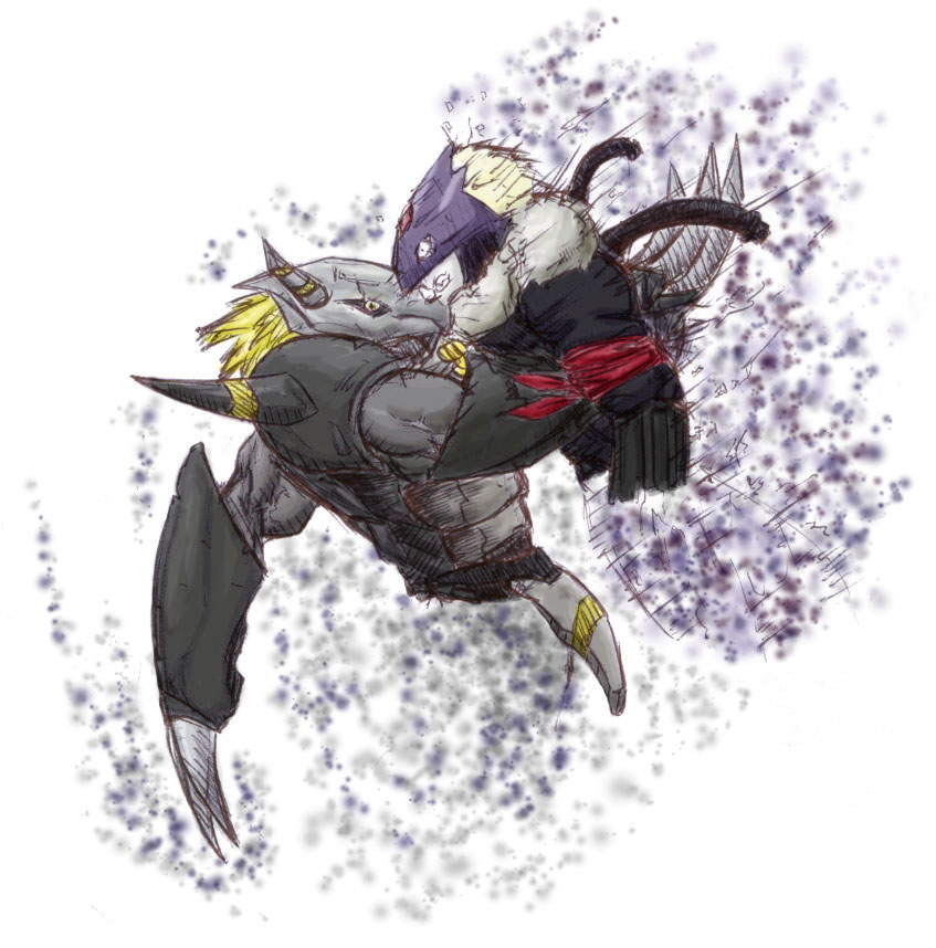 Yeni Digimon İfadeleri (Smile) Blackwargreymon_vs_beelzemon__part2_colors__by_ruler_of_limbo-d5trxu4