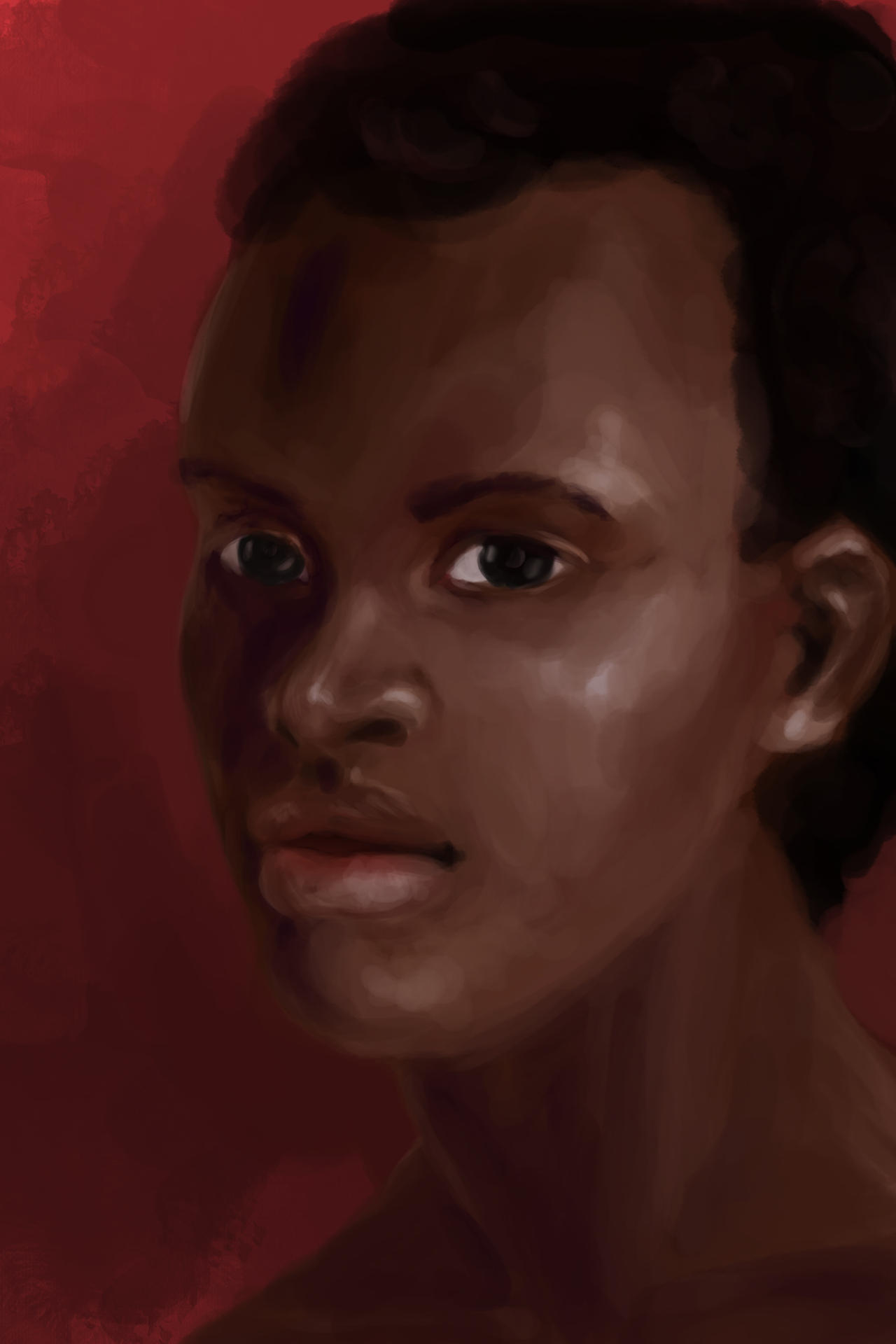 Speed Paint Character Portrait by TaraPrince
