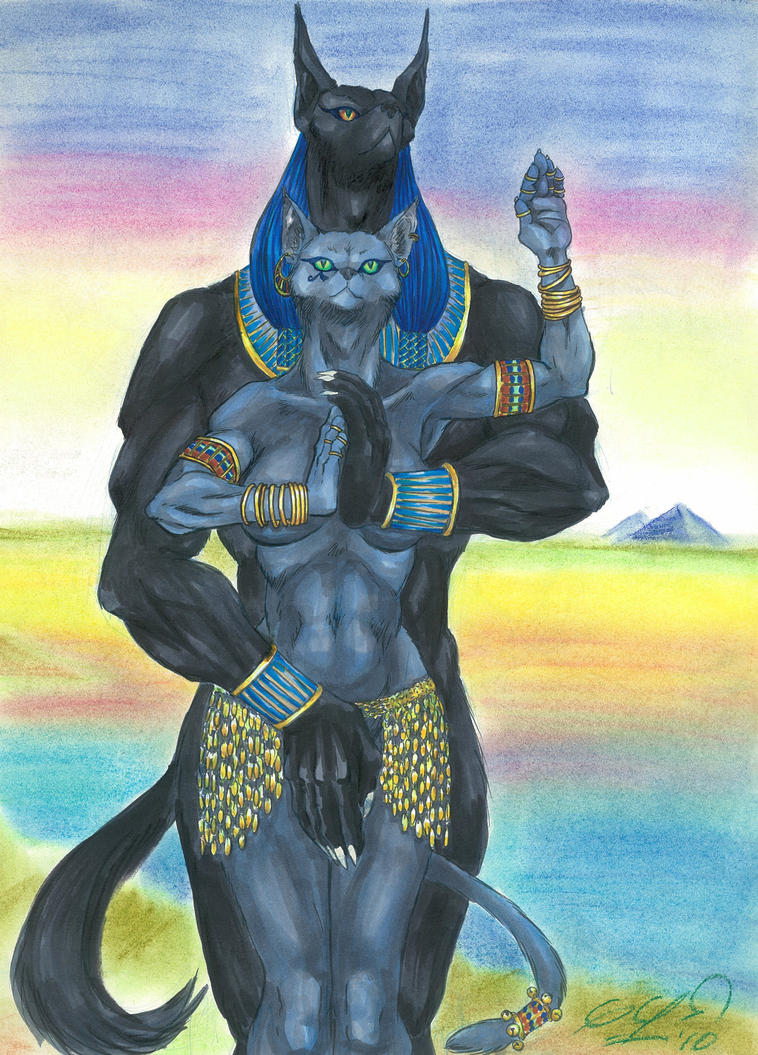 bast and anubis relationship