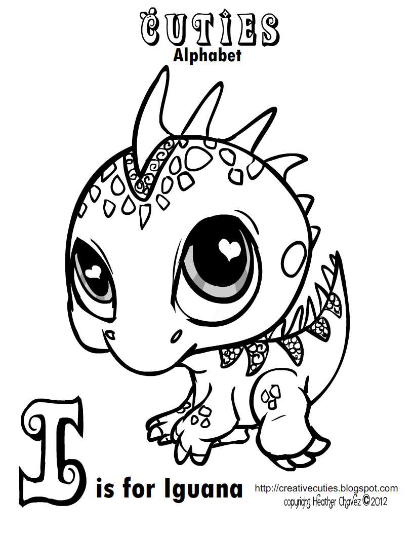 Iguana by heather chavez on deviantart for Iguana coloring pages