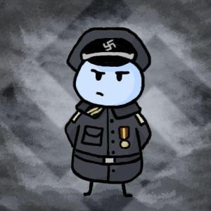 Nazi Jellybean by Koori14