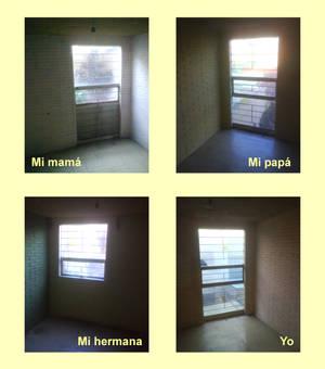 Cuatro ventanas - Four windows