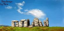 Stonehenge. by MashyTaytew