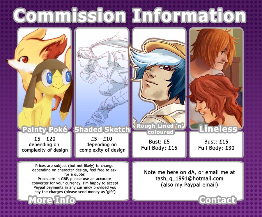 Commission Info by MashyTaytew