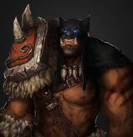 Rexxar Beastmaster by mechus
