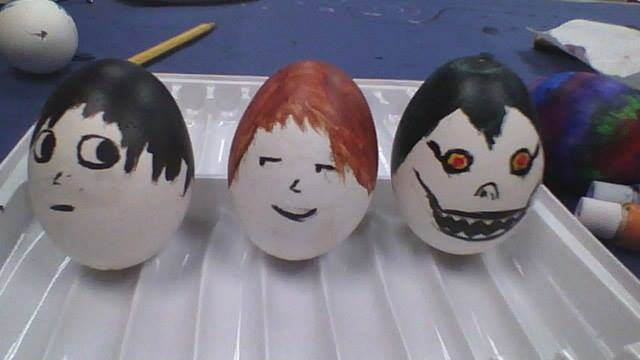 Death Note Easter Eggs! by applereaper8499