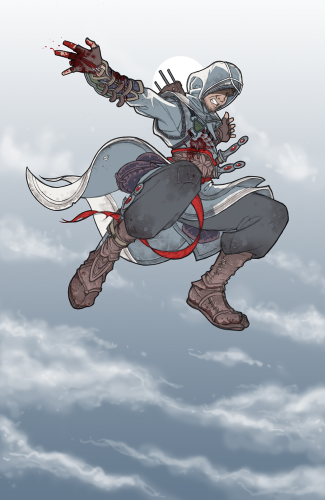 Altair makes another leap of faith in Sbarudes piece