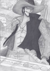 Mihawk by Sh1roYasha