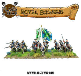 Battle of Falkirk Muir 1746 - Royal Ecossais