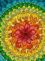 Mandala Apocalypse by PaintMyWorldRainbow