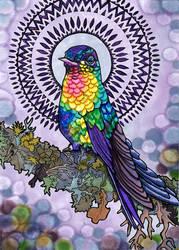 Holistic Hummingbird by PaintMyWorldRainbow