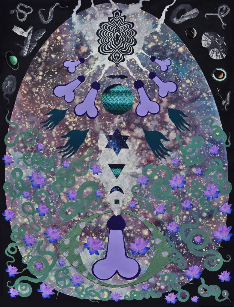 Cosmic Union by PaintMyWorldRainbow