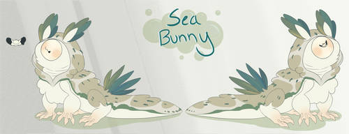 Sea Bunny | Approved! Kiku MYO by Goldthecat