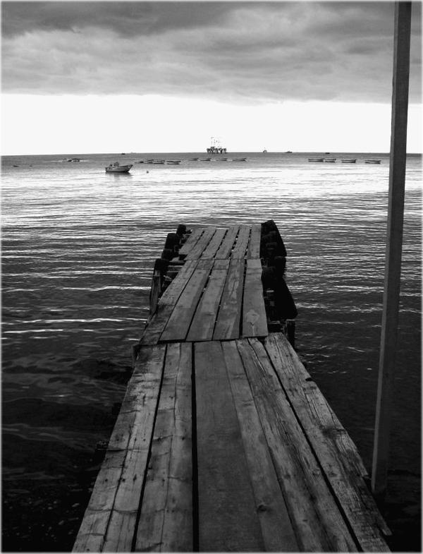 pier by orangesonappletrees