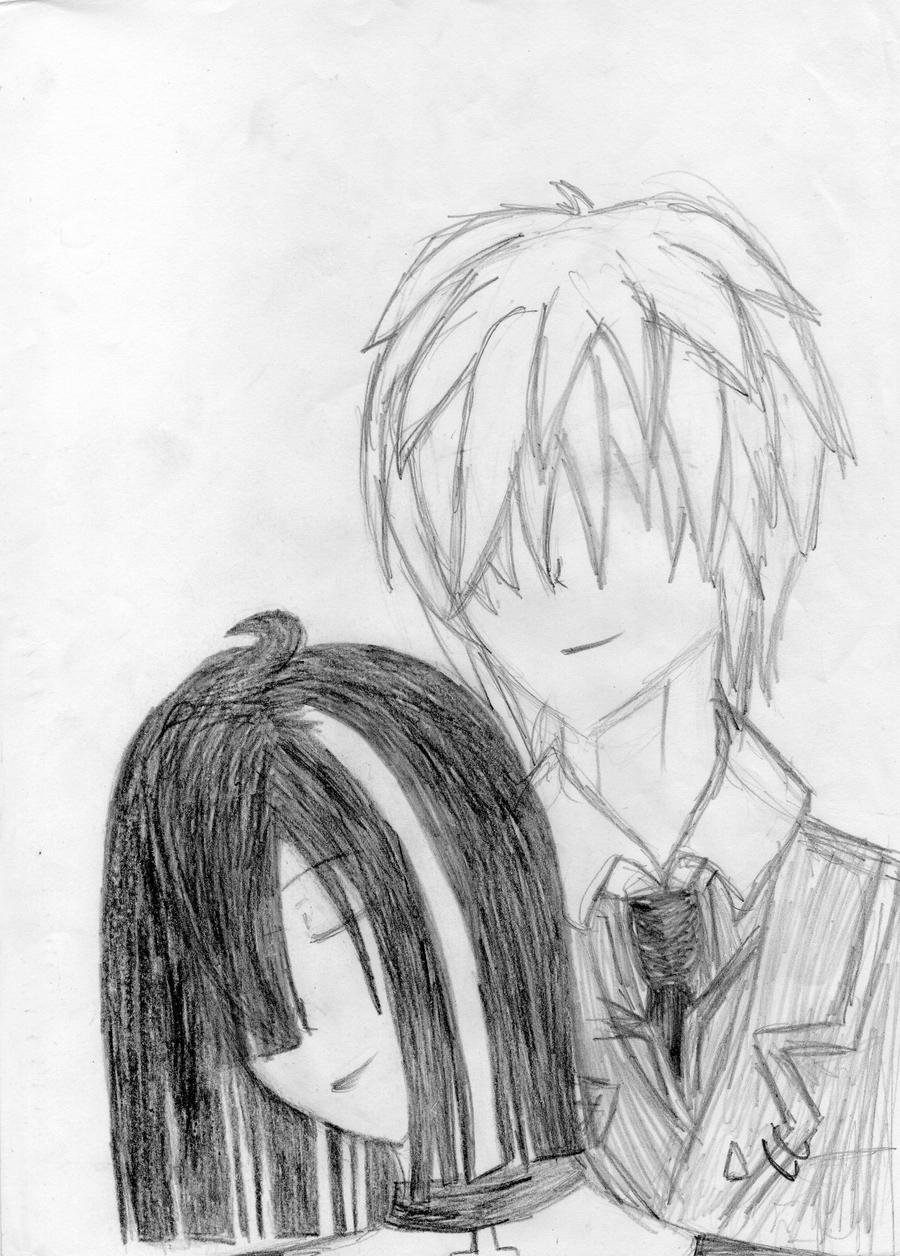 Dark Love Drawings dark love by aki1366 o...