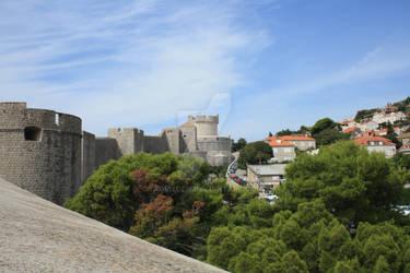 Walls of Dubrovnik by AdrisDen