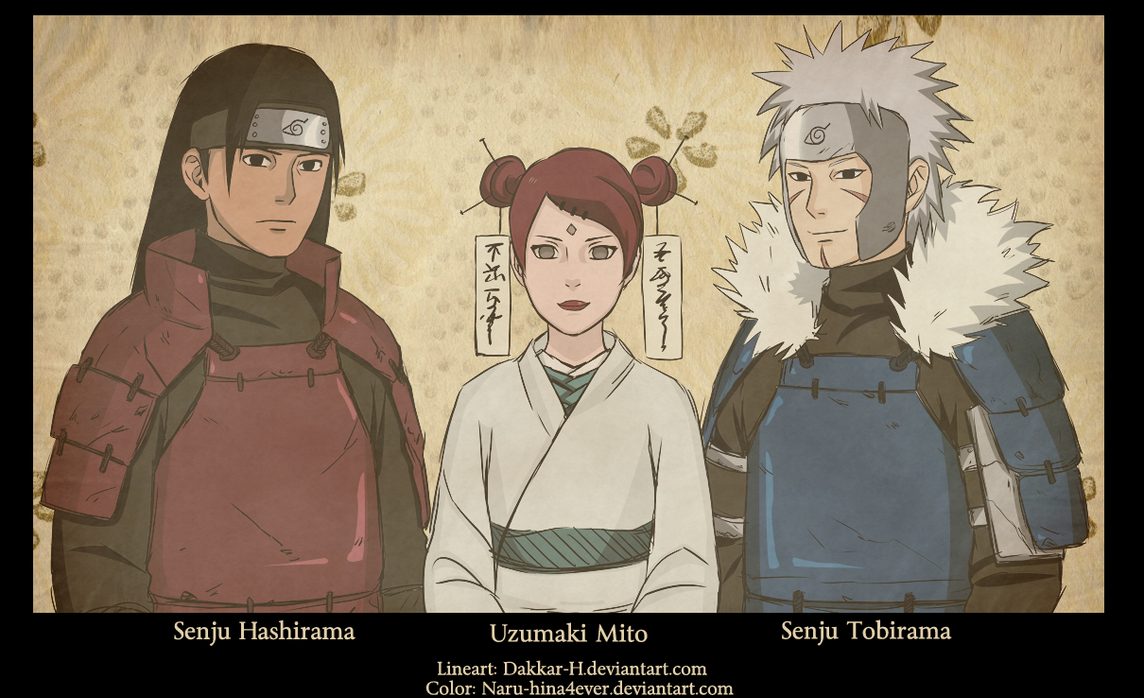 madara and hashirama and mito - photo #30