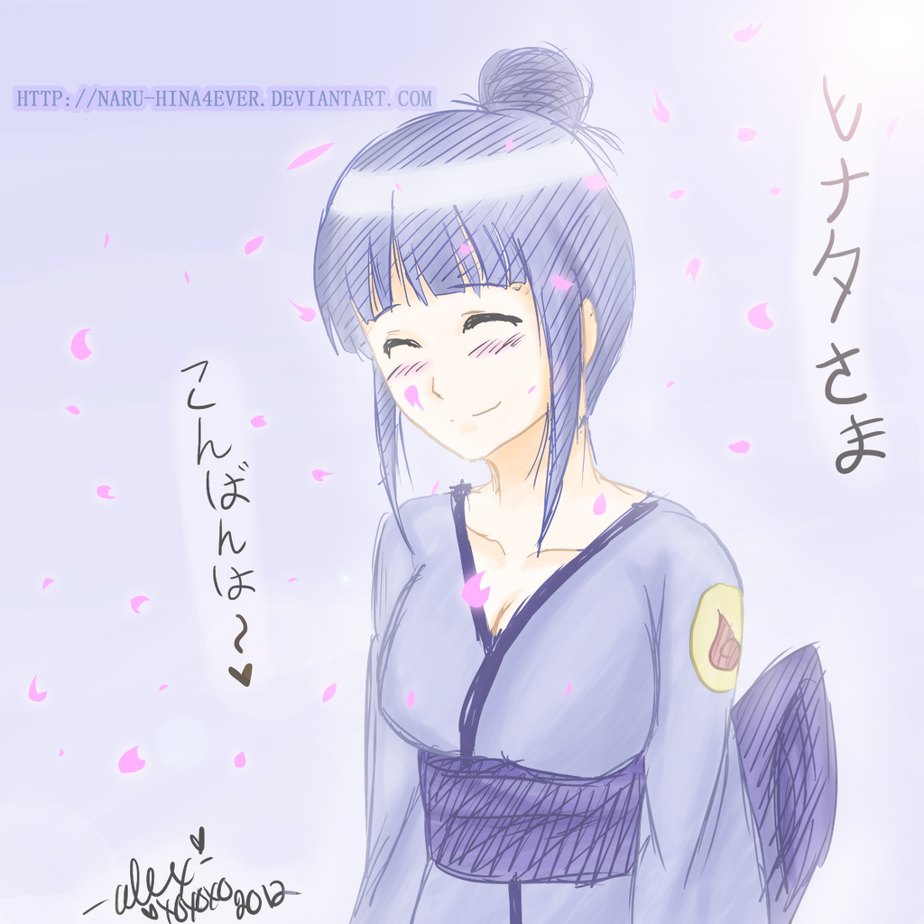 Hyuuga Hinata by Naru-Hina4ever