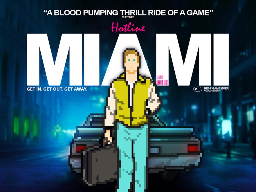 Drive vs. Hotline Miami by mani-co