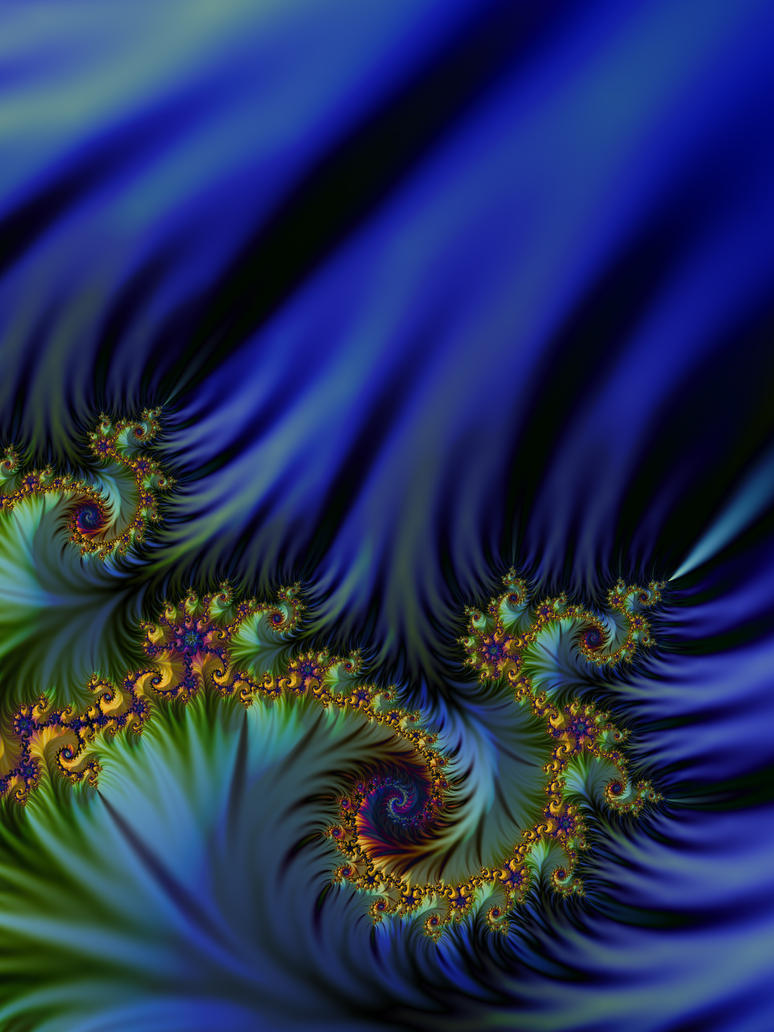 Avatar Forest Fractal by FAIA-Fractals