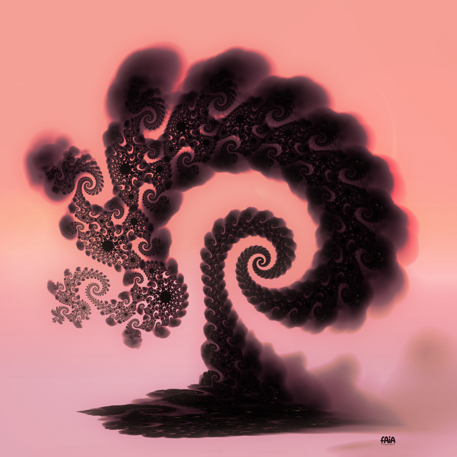 Smokey Tree by FAIA-Fractals
