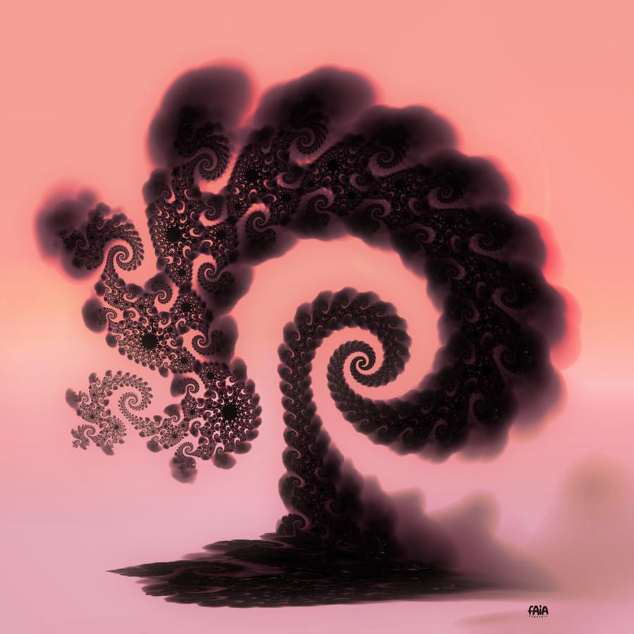 Smokey Tree by FAIA-Fractals