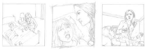 Righteous Hands Web Comic WIP by JBEmmett