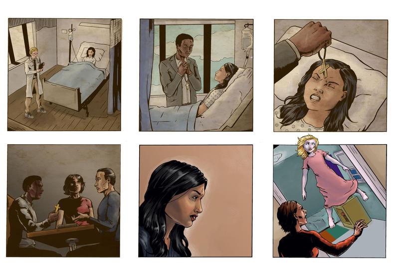 Coloring for Righteous Hands Part 5 Web Comic by JBEmmett