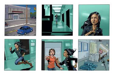 Coloring for Righteous Hands Part 7 Web Comic by JBEmmett