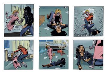 Coloring for Righteous Hands Part 8 Web Comic by JBEmmett