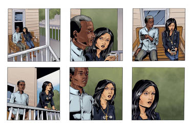 Coloring for Righteous Hands Part 10 Web Comic by JBEmmett