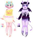 [CLOSED] set price demon girl adopts
