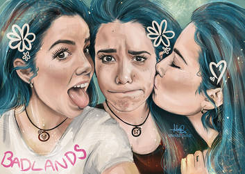 Triple Halsey by MoishPain