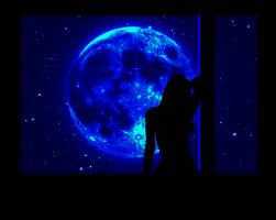 Blue Moon by Volodina-Yulia