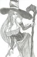 Sorceress Dragon's Crown by LordMiras