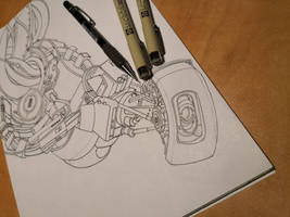 GLaDOS - Inking