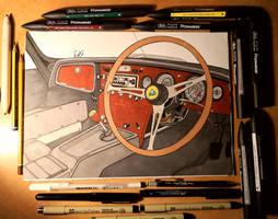 Lotus Elan 1964's Interior
