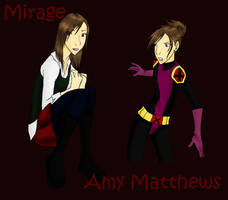 X-men: OC: Mirage by Water-Earth-Fire-Air