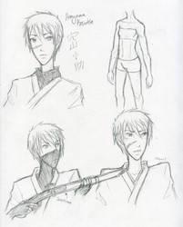 10: Anayama Kosuke Design Sketches by Water-Earth-Fire-Air
