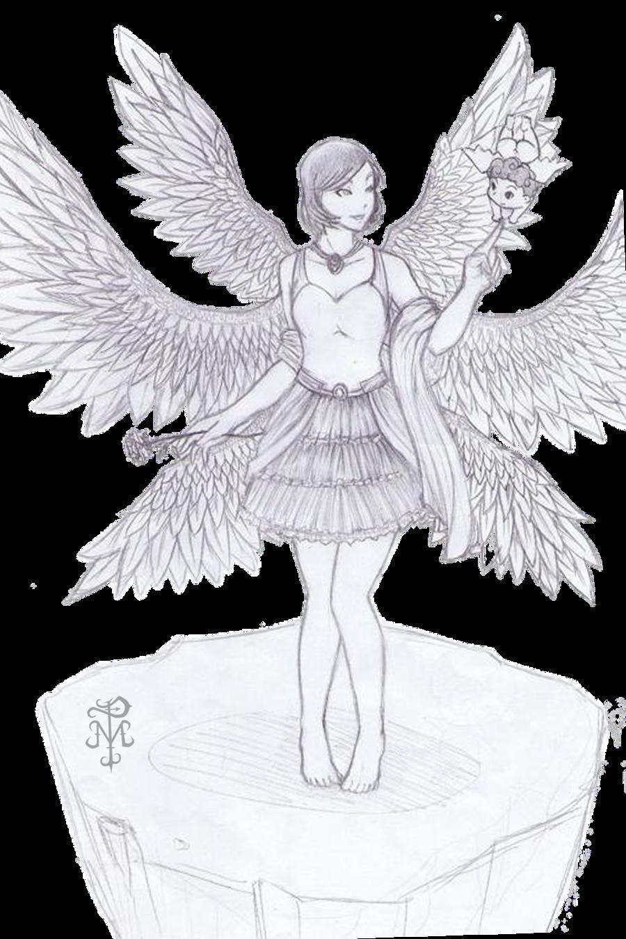 6 winged angel by markprincipe on DeviantArt