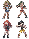 Custom Pokemon Trainers by TxusMetal4ever