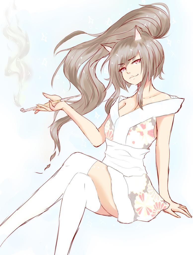 holy smoke by KotoneHaruka