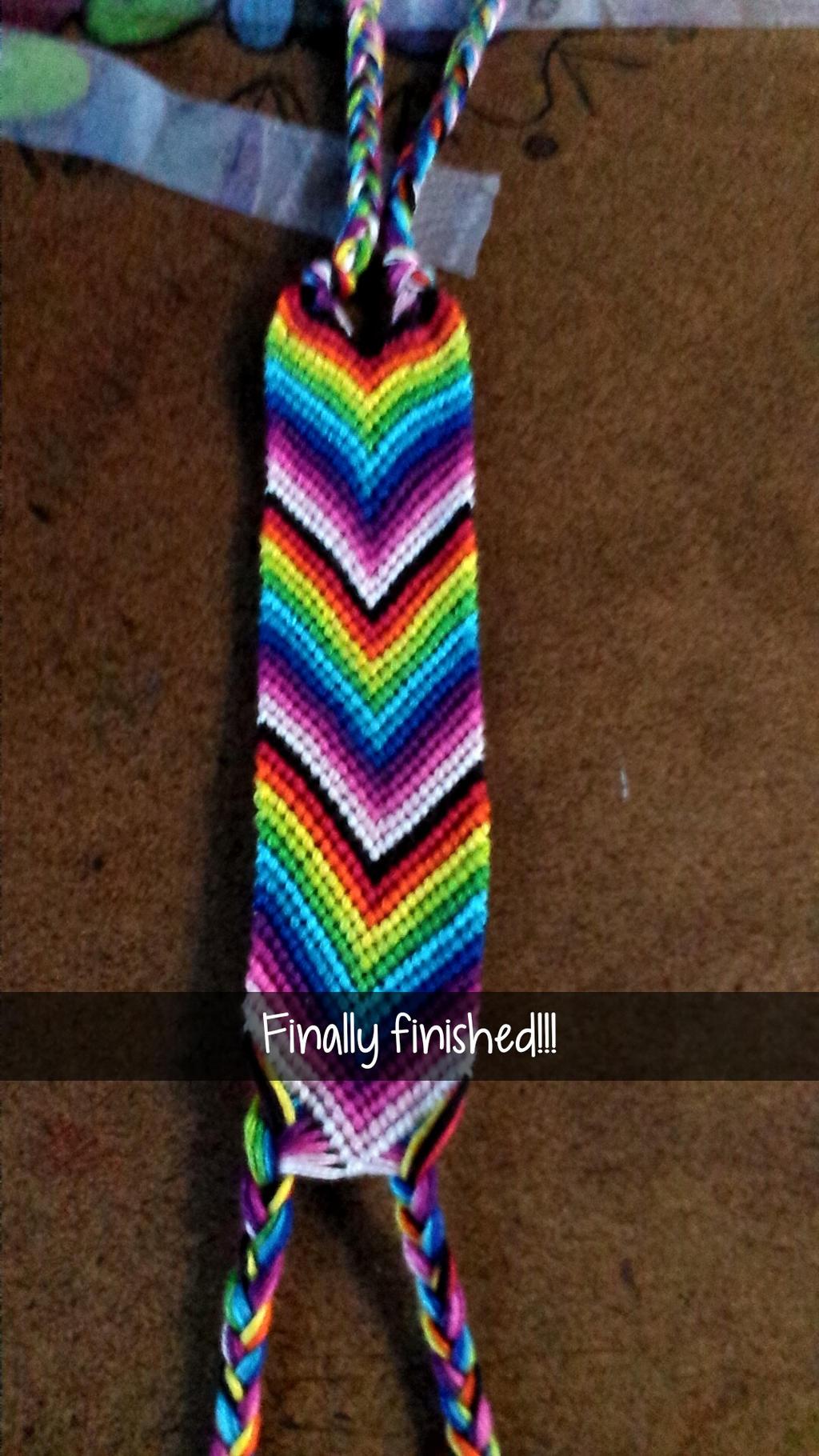 Chevron bracelet - Rainbow Chevron Friendship Bracelets By Annabellemarie3 Rainbow Chevron Friendship Bracelets By Annabellemarie3