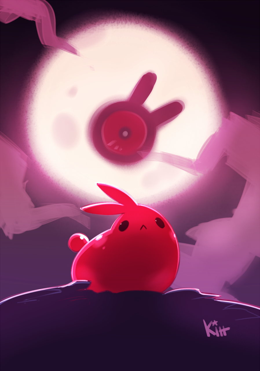 Monster Challenge 13 - Lunar Eyeball by KittBetelgeuse